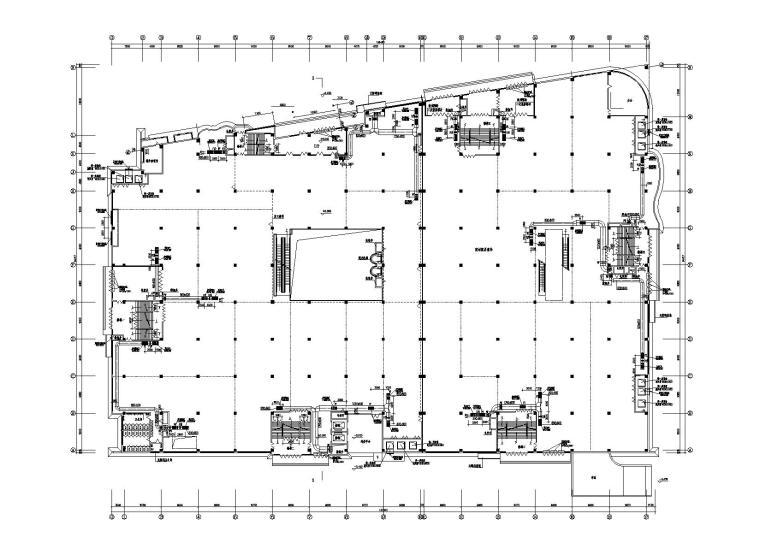 某四层大型建材商场暖通施工图