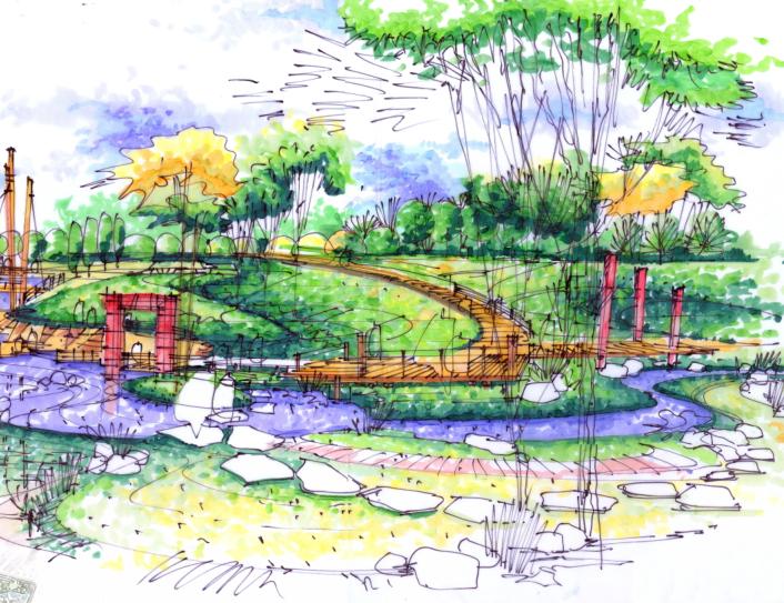 [新疆]克拉玛依东湖公园景观设计方案文本