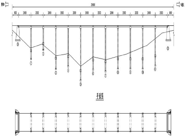 预应力混凝土空心板大桥加固工程图纸