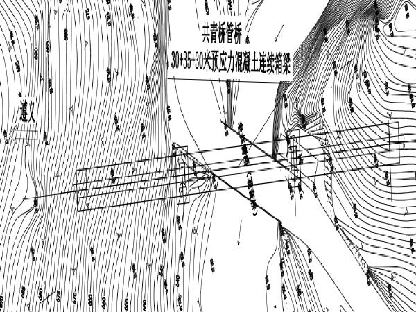 输水主管附属的两座管桥图纸、招标技术文件