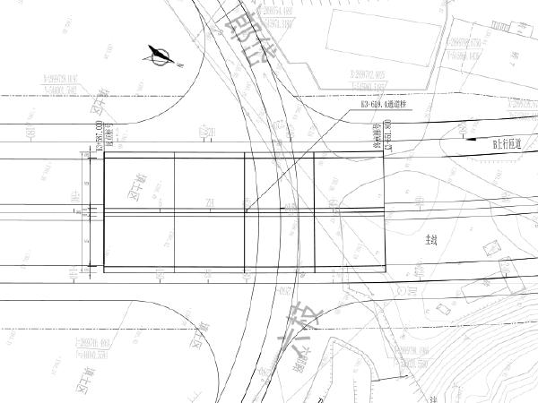 """整体式闭合""""口""""字形立交桥工程施工图纸"""