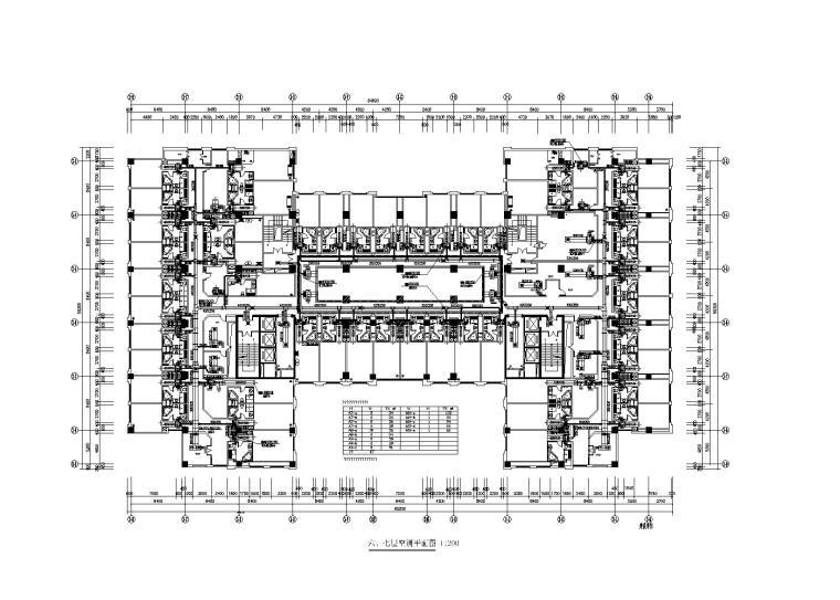 6万平综合酒店暖通施工图(溴化锂机组)