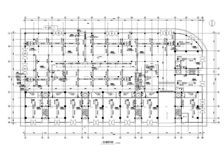 某16层物资经销公司商住楼暖通施工图