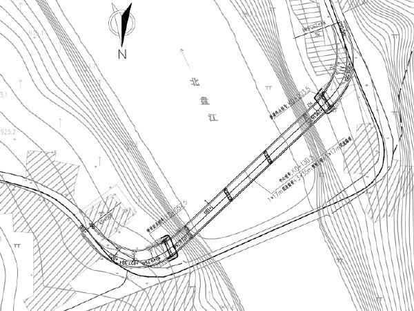桥梁拆除重建两阶段改造工程施工图纸