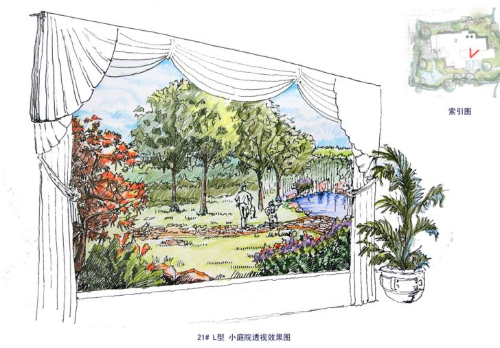 [上海]紫都晶圆别墅庭院景观设计方案文本_10