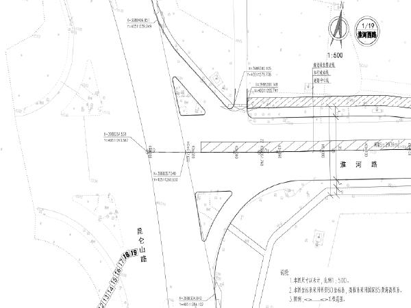 市政配套道路建设和整治提升工程图纸
