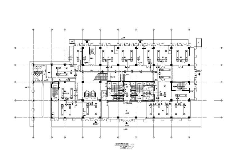 某四层办公楼模块机组制冷设计