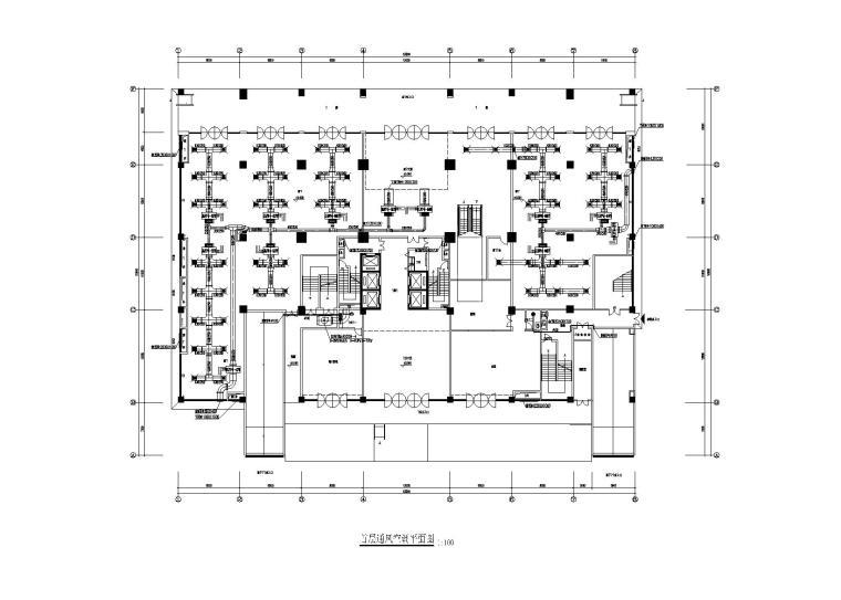 14层商业住宅综合楼空调加新风施工图