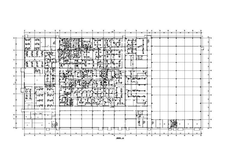 30万级车间洁净区空调系统暖通施工图