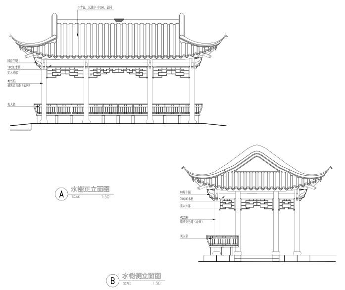 [浙江]乌镇老年公寓社区景观施工图+方案_18