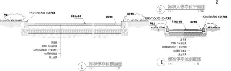 [浙江]乌镇老年公寓社区景观施工图+方案_10