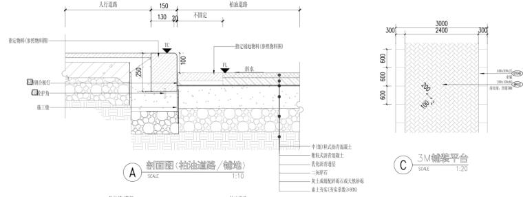 [浙江]乌镇老年公寓社区景观施工图+方案_5