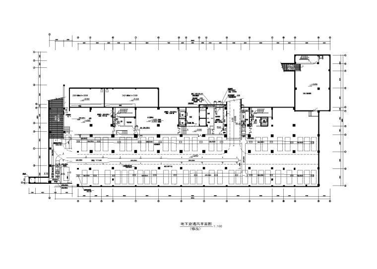 全热交换器新风管施工资料下载-某财税办公楼多联机系统及新风设计图