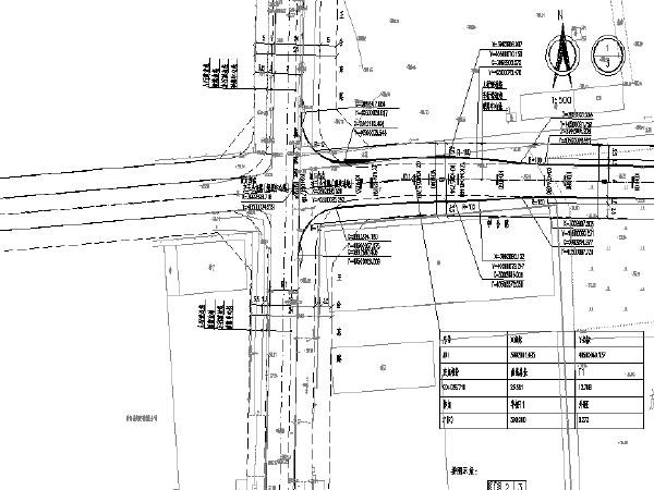 道路环境提升工程设计图纸(四条道路)