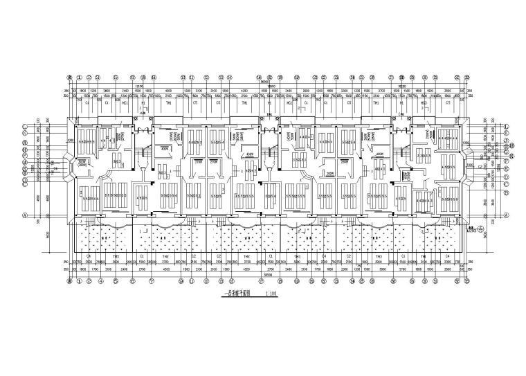 7层住宅供暖施工图纸