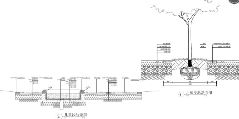 [浙江]乌镇老年公寓社区景观施工图+方案_11