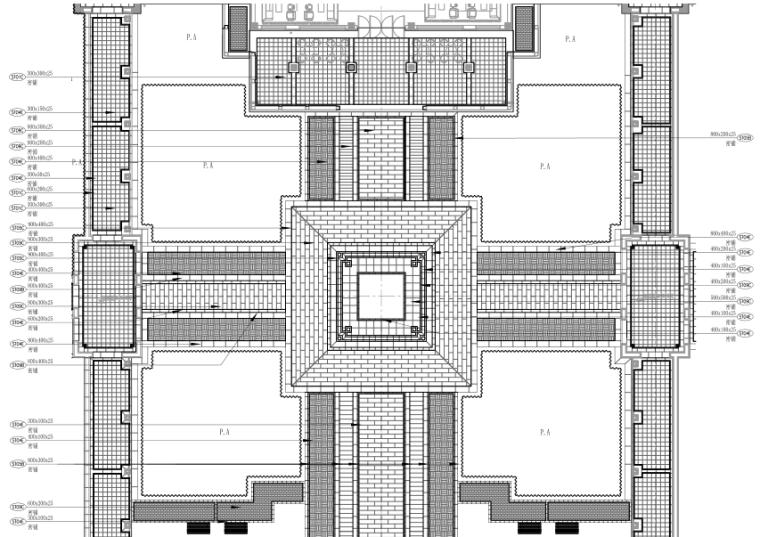 [浙江]乌镇老年公寓社区景观施工图+方案_1