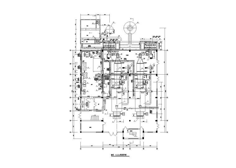 河南某制药厂锅炉房暖通施工图