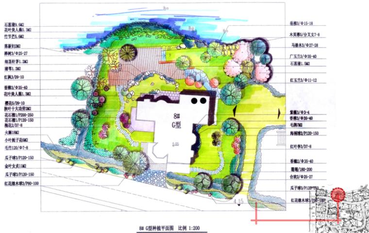 [上海]紫都晶圆别墅庭院景观设计方案文本_4