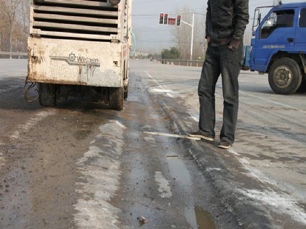 沥青路面变形类病害的维修