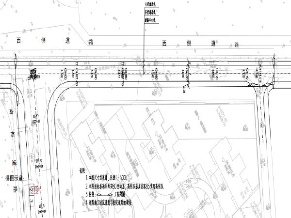 市政多条道路建设和整治提升设计图纸