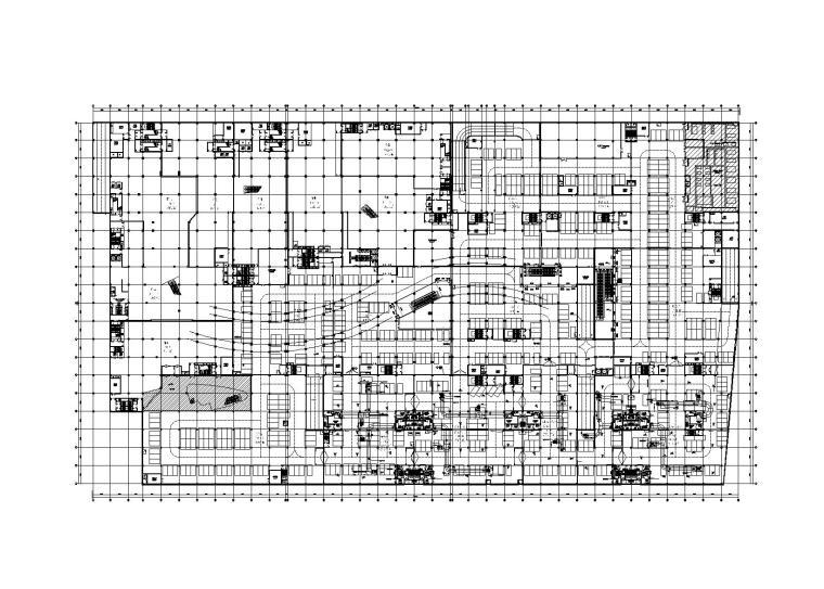 三河市雷捷时代广场人防工程暖通施工图