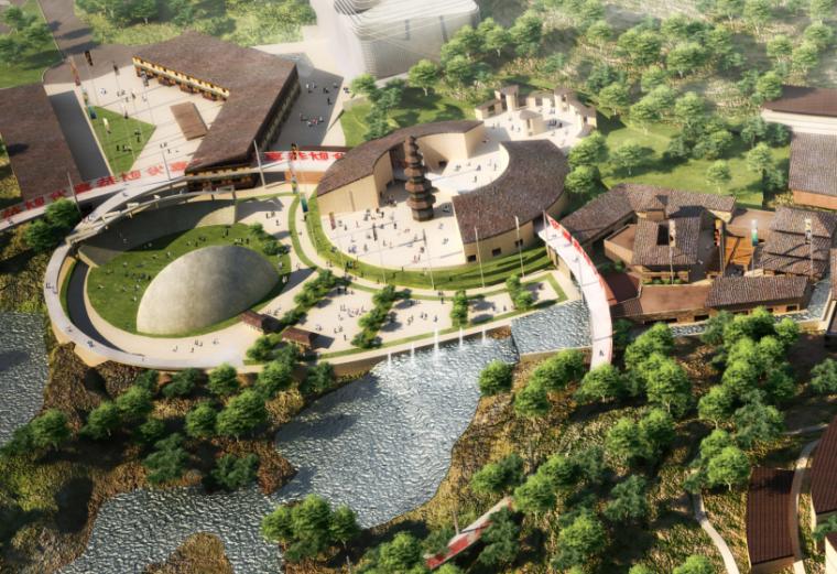 [贵州]自然生态贵州城改造规划方案文本