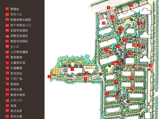 [山东]青岛凤凰海岸居住区景观设计方案文本