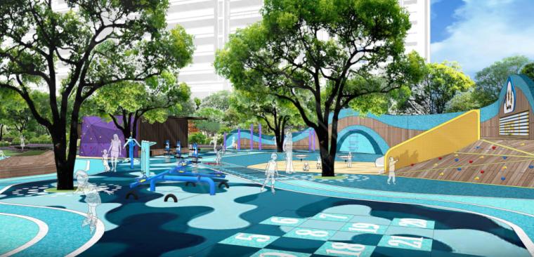 [江苏]居住区景观深化设计-儿童活动区设计_3