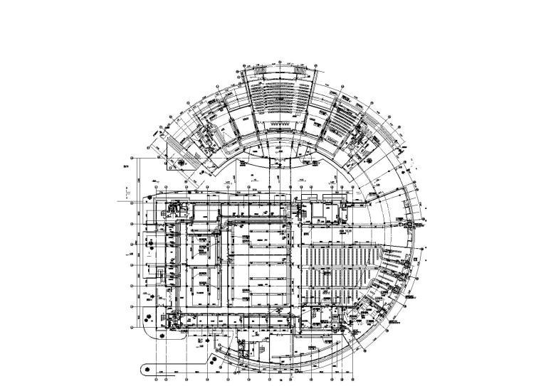 盐城图书馆暖通施工图