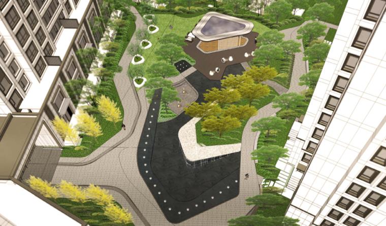 [上海]金茂现代居住区景观深化设计文本