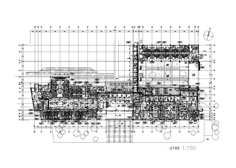 上海交行数据处理中心业务处理一号楼暖通图