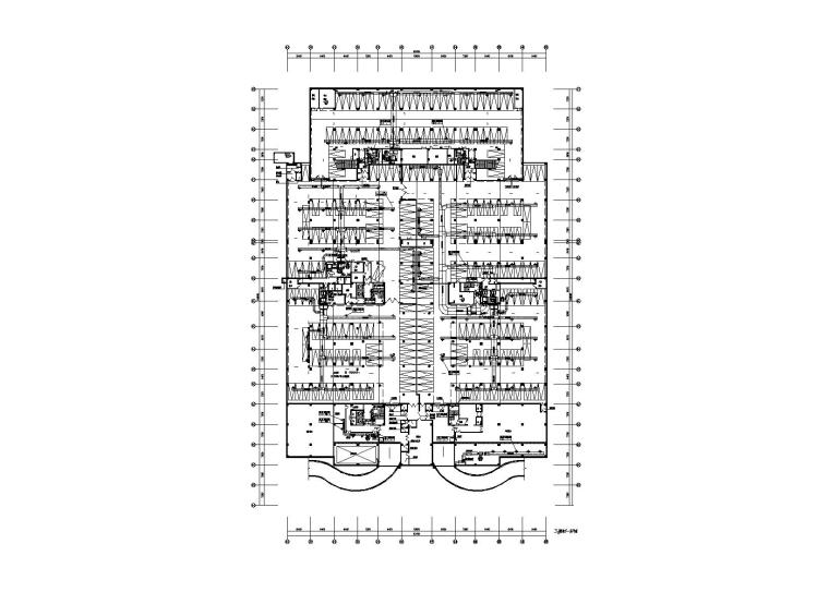厦门大学翔安校区图书馆暖通施工图