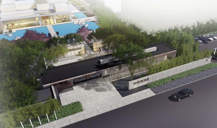 [江苏]旭辉新亚洲高端豪宅景观设计方案