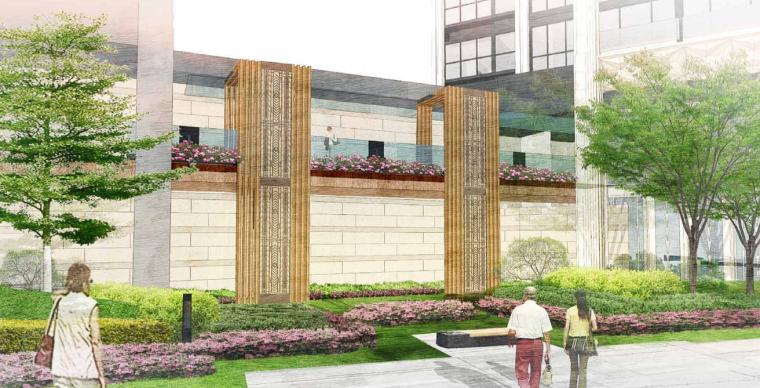 [深圳]新中式居住区景观方案文本-AECOM