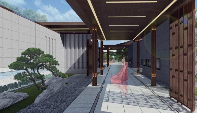 [河南]郑州天地龙溪城新中式居住区景观设计