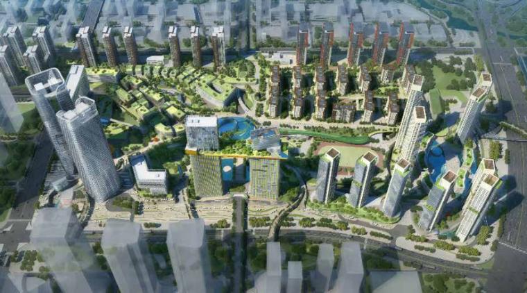 [深圳]前海商业空中花园景观设计-AECOM
