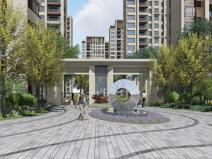 ?[上海]新城璞樾現代風格居住大區景觀方案