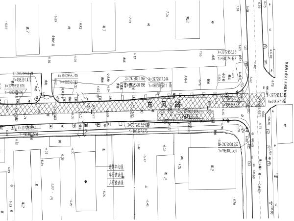 东风路道路整治提升工程初设图纸含标文地勘