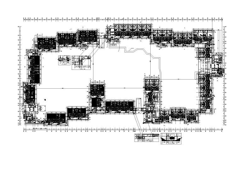 无锡万达6星级酒店暖通施工图