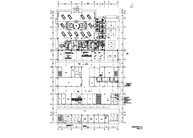 3层1万平办公楼多联机空调施工图