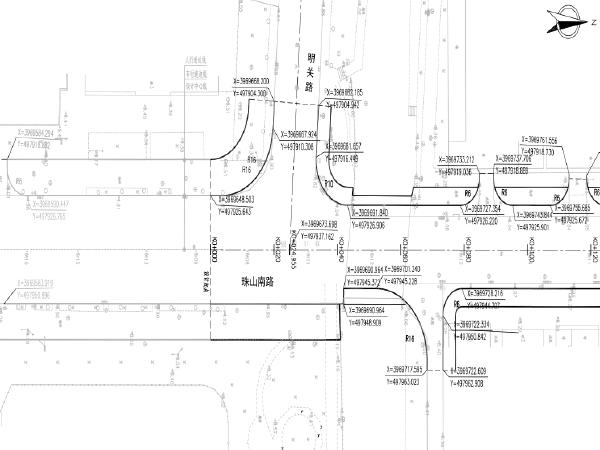 市政道路拓宽改造整治提升工程初步设计图