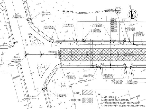 道路车行道大修/人行道翻建/绿化等工程图纸
