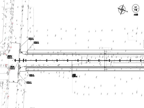 城市次干路拓宽改造工程设计图纸(PDF版)