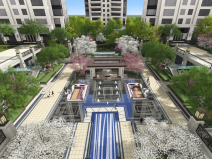 ?[河北]石家莊中冶公寓歐式景觀深化方案