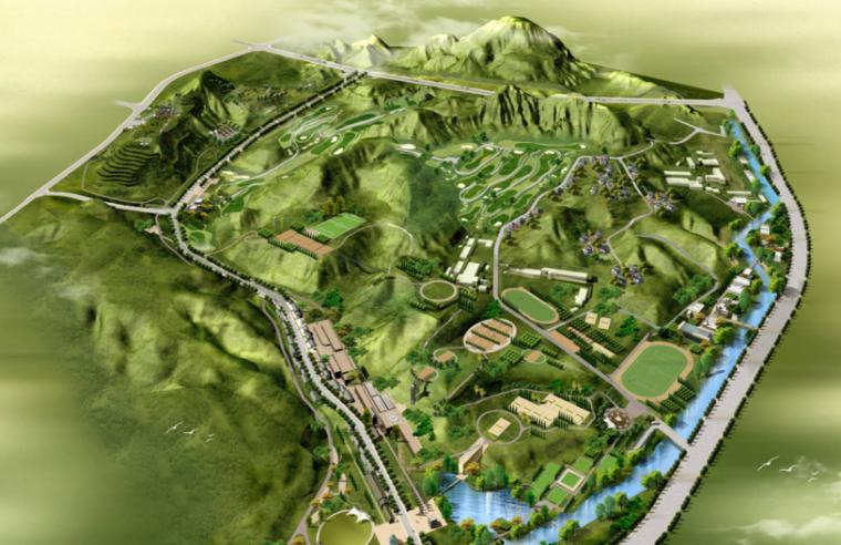 [甘肃]兰州九州体育主题公园概念性规划方案