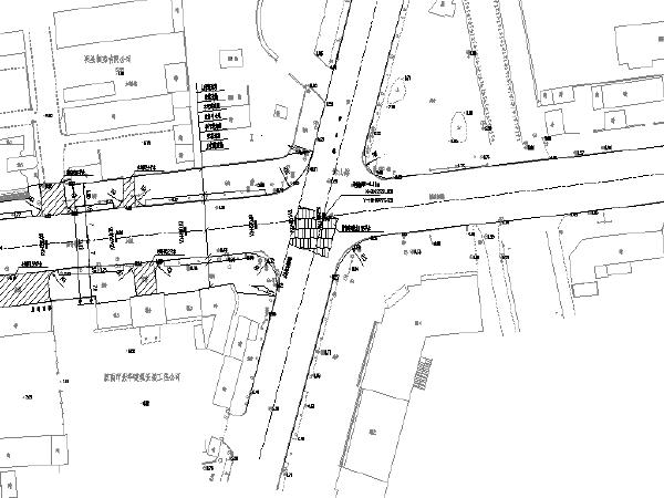 700米道路整治车/人行道拆除重建工程图纸