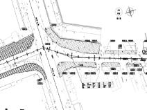 道路拓寬改造為四車道工程初設圖(CAD與PDF)