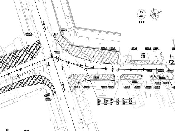 道路拓宽改造为四车道工程初设图(CAD与PDF)