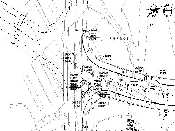 公园配套道路及配套管网系统初步设计图纸